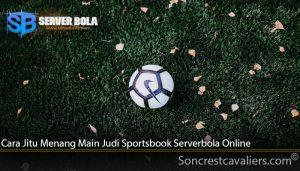 Cara Jitu Menang Main Judi Sportsbook Serverbola Online