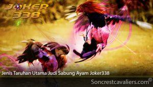 Jenis Taruhan Utama Judi Sabung Ayam Joker338